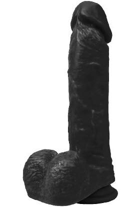 Xise Wolf King 22 cm Kalın Siyah Penis Et Dokusu Süper Realistik Dildo