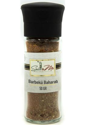 Spiceandme Barbekü Baharatı Değirmen Kapak Cam Şişe 50 gr