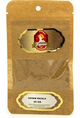 Figenes Garam Masala Kraft Paket 25 gr