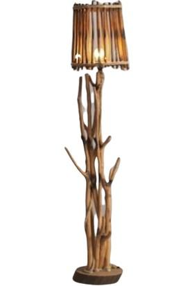 Dekorbizden Dekoratif Halat Süslemeli Antik Lambader