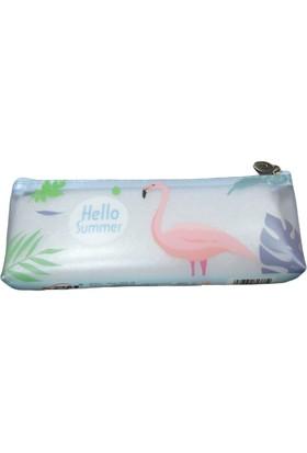 Linea Flamingo Tek Gözlü Silikon Kalem Kutusu