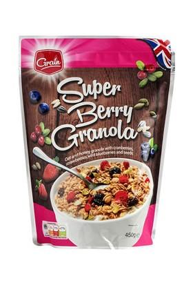 Grain Super Berry Granola Müsli Gevrek 450 gr