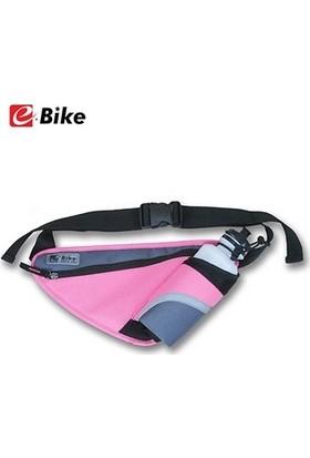E Bike Suluk ve Eşya Taşıyan Çok Fonksiyonlu Çanta -Pembe