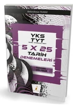 Pelikan Yks Tyt 5X25 Tarih Denemeleri Tamamı Çözümlüyeni - Abdurahman Yılmaz