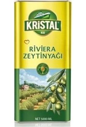 Kristal Riviera Zeytinyağı 5 Lt 4'lü Set