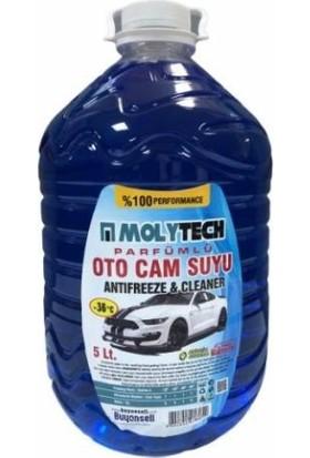 Molytech Oto Cam Suyu - Antifriz Oranı Yüksek Kışlık -36 5 lt