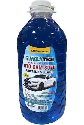 Molytech Oto Cam Suyu -Antifriz Oranı Yüksek Kışlık -36 3 lt