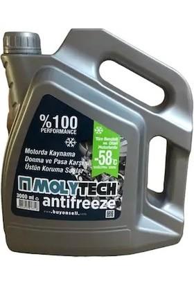 Molytech Mavi Konsantre Antifriz -58 3 lt