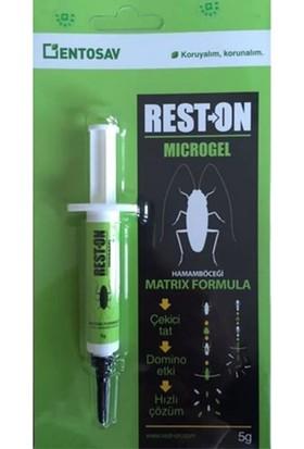 Entosav Reston Microgel Hamam Böceği Jeli 5 gr