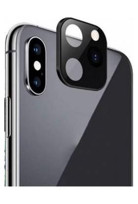 Eretna Apple iPhone 11 Pro Max Lens Dönüştürücü Siyah