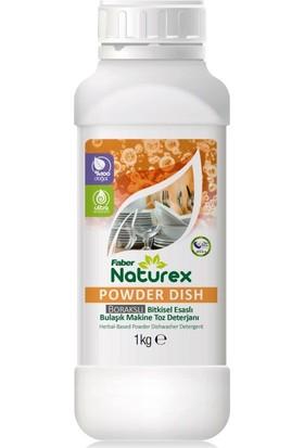Faber Naturex Powder Dish Toz Bulaşık Makine Deterjanı (1kg Şişe)