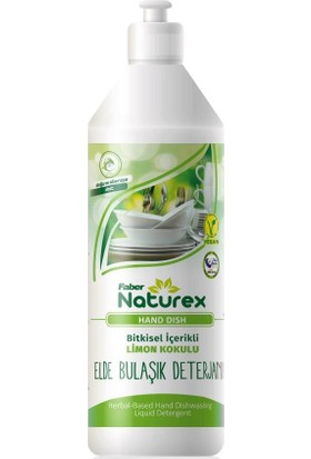 Faber Naturex Hand Dish Elde Bulaşık Deterjanı (1l Şişe)