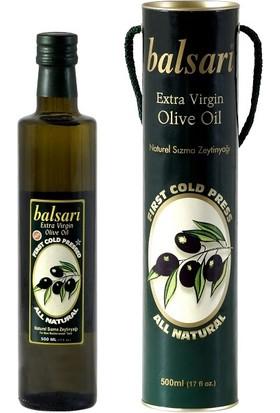 Balsari Erken Hasat - Lüks 500 ml Naturel Sızma Zeytinyağı