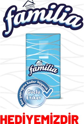 Ögem Jumbo Boy Çöp Torbası 80 x 110 5 Paket + Familia Peçete