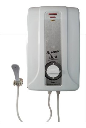 Artemis Lion Uzun Rezistans Elektrikli Şofben