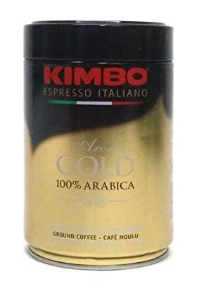 Kimbo Aroma Gold 100% Arabica Filtre Kahve (250 Gr) Teneke Kutu