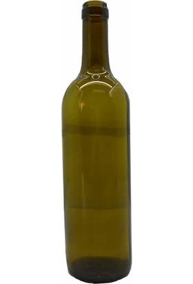 Moniev Şarap Şişesi Mantar Kapaklı Cam Yağ Şişesi 750 ml 12 Adet