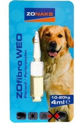 Zonaks Köpek Bit Pire Ense Damlası Güçlü Etkili 10 - 20 kg 4 ml
