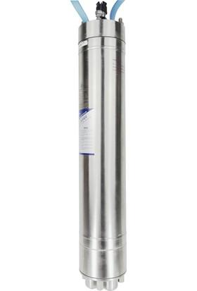 """Cri 6"""" 20 Hp 380 V W6A-150D Yıldız Üçgen Çift Kablo Çıkışlı Dalgıç Motor"""