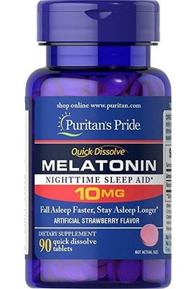 Puritans Pride Melatonin 10 Mg 90 Tablet