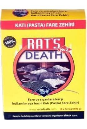 Rats Death Fare Pastası 100 gr Fare ve Sıçanlara Karşı Etkili
