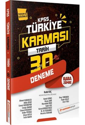 Uzman Kariyer 2020 Kpss Türkiye Karması Tarih 30 Deneme Tamamı Çözümlü - Kadir Koç
