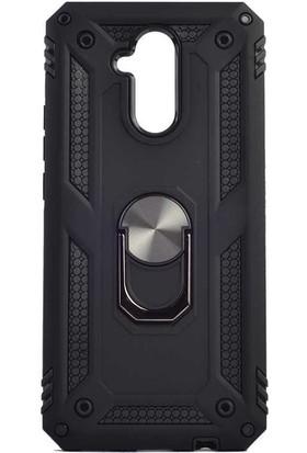 Zore Huawei Mate 20 Lite Kılıf Vega Silikon - Siyah