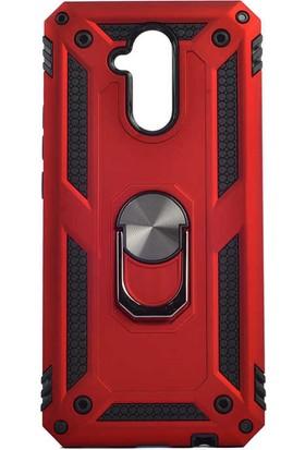 Zore Huawei Mate 20 Lite Kılıf Vega Silikon - Kırmızı