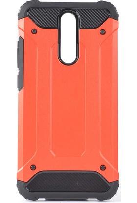Zore Xiaomi Redmi 8A Kılıf Crash Silikon - Kırmızı