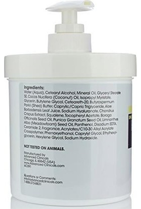 Advanced Clinicals Hyaluronic Acid Losyon 454gr