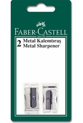 Faber-Castell Metal Kalemtraş Yedekli