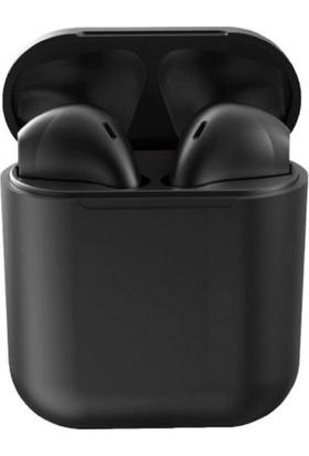 Tws I12 Upgrade Model Bluetooth 5.0 Şarj Üniteli Kablosuz Kulaklık - Siyah