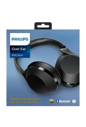 Philips TAPH802BK Kablosuz Bluetooth Kulak Üstü Kulaklık - Siyah