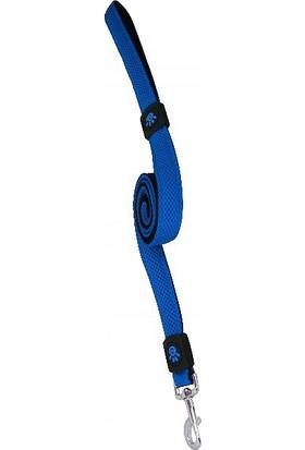 Doco Polyester Dokuma Köpek Gezdirme Tasma M 120 cm Mavi