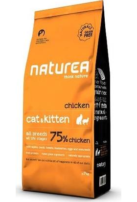 Naturea Cat & Kitten Chicken Tavuklu Tahılsız Kuru Kedi Maması 7 kg