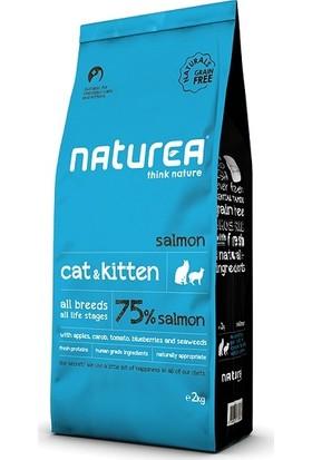 Naturea Cat & Kitten Salmon Somonlu Tahılsız Kuru Kedi Maması 7 kg