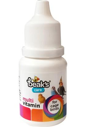 BEAKS Kuşlar İçin Sıvı Multi Vitamin Takviyesi 25 ml