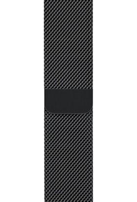Schulzz Apple Watch Seri 3-4-5 Premium 42-44 mm Metal Milano Kordon - Siyah