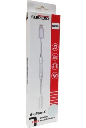 Subzero Apple Lightning 3.5 mm Kumandalı Kulaklık Şarj Dönüştürücü Sbz-Ad1