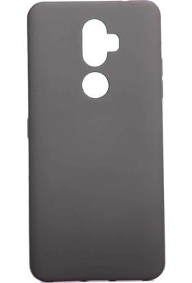 Teleplus Alcatel 3V Kılıf Lüks Silikon Siyah