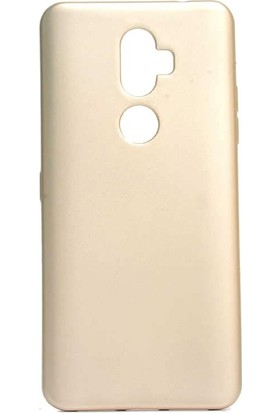 Teleplus Alcatel 3V Kılıf Lüks Silikon Gold