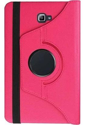 "Esepetim Samsung Galaxy Tab A6 T280 Dönerli Pembe Tablet Kılıfı 7""- Pembe"