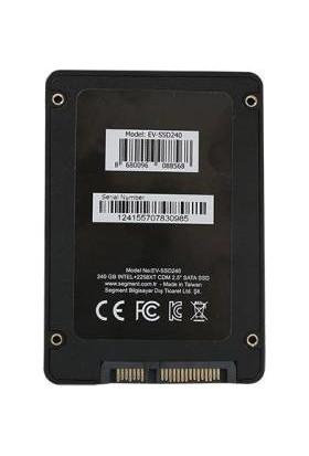 """Everest EV-SSD240 240GB 550MB-450MB/s 2.5"""" Sata 3 SSD"""