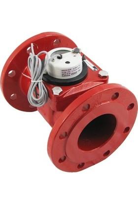 Powogaz MWN130-DN100 Sıcak Su Sayacı Reed Pulser