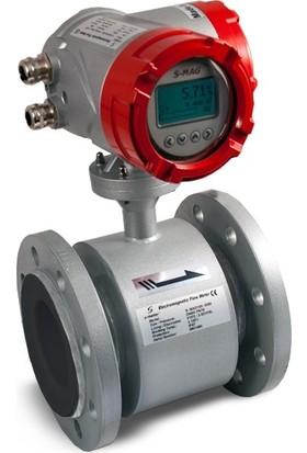 S-Meter S-MAG100 RUB-SS-80-L-80-A-16 / DN80 Elektromanyetik Debimetre