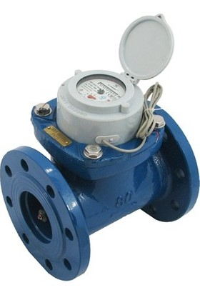 S-Meter WP-SDC DN80 Soğuk Su Sayacı Reed Pulser