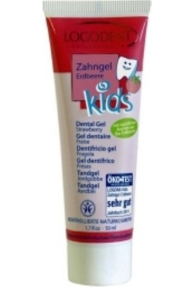Logodent Organik Çilek Özlü Çocuk Diş Macunu 50 ml