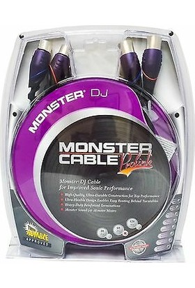 Monster Ses Bağlantı Dj Kablosu 2m