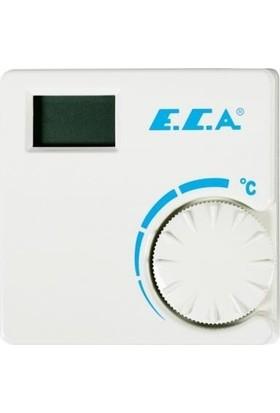 Eca ERT-176 Ws Dijital Kablolu Oda Termostat