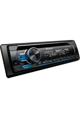 Pioneer Oto Teyp Çift Bluetooth USB AUX 2rca DEH-S4250BT